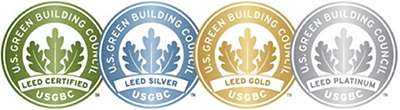 LEED Plagues: Green, Blue, Gold and Platinum