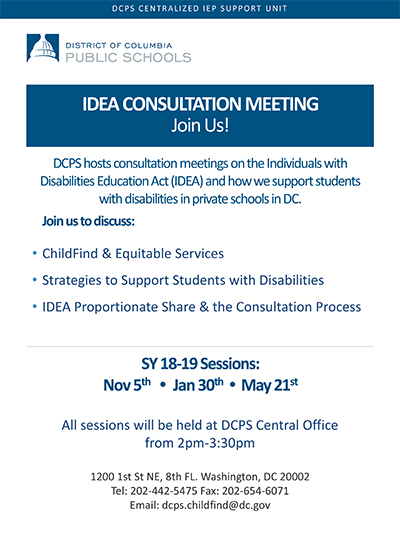 Idea Consultation Meeting - Join Us!