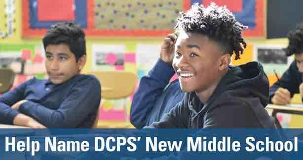 Help Name DCPS' New Middle School