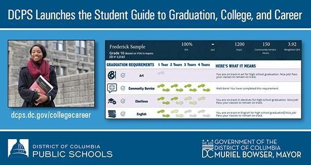 DCPS launches the Student Guide to Graduation, College, and Career