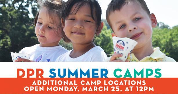 DCPS & DPR Summer Camps - Additional Camp Locations Open Monday, March 25 at 12 pm.