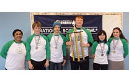 Wilson High School Students headed to the National Science Bowl