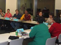 Photo of Parent Cabinet Meeting
