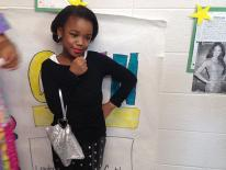 1. Oprah (Markayla, 3rd grade)