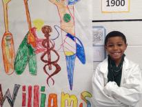 7.  Dr. Daniel Hale Williams (Willie, 2nd grade)