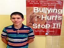 Miguel Gomez, a sixth-grader at Oyster-Adams Bilingual School.