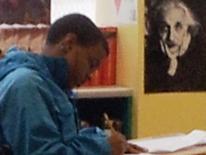 Photo of a Student at Washington Metropolitan High School
