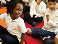 Photo of DCPS Students at play